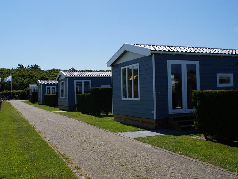 Wadden Chalets te huur Camping Coogherveld Texel